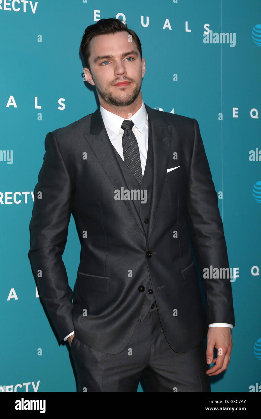 Premiere of A24's 'Equals' at ArcLight Hollywood - Arrivals  Featuring: Nicholas Hoult Where: Los Angeles, California, Stock Photo