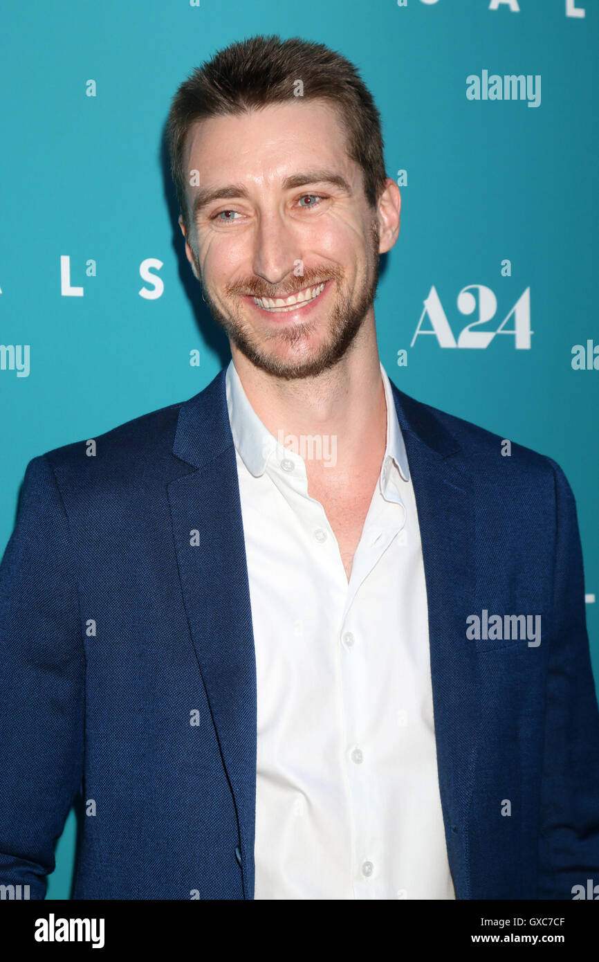 Premiere of A24's 'Equals' at ArcLight Hollywood - Arrivals  Featuring: Tom Stokes Where: Los Angeles, California, Stock Photo