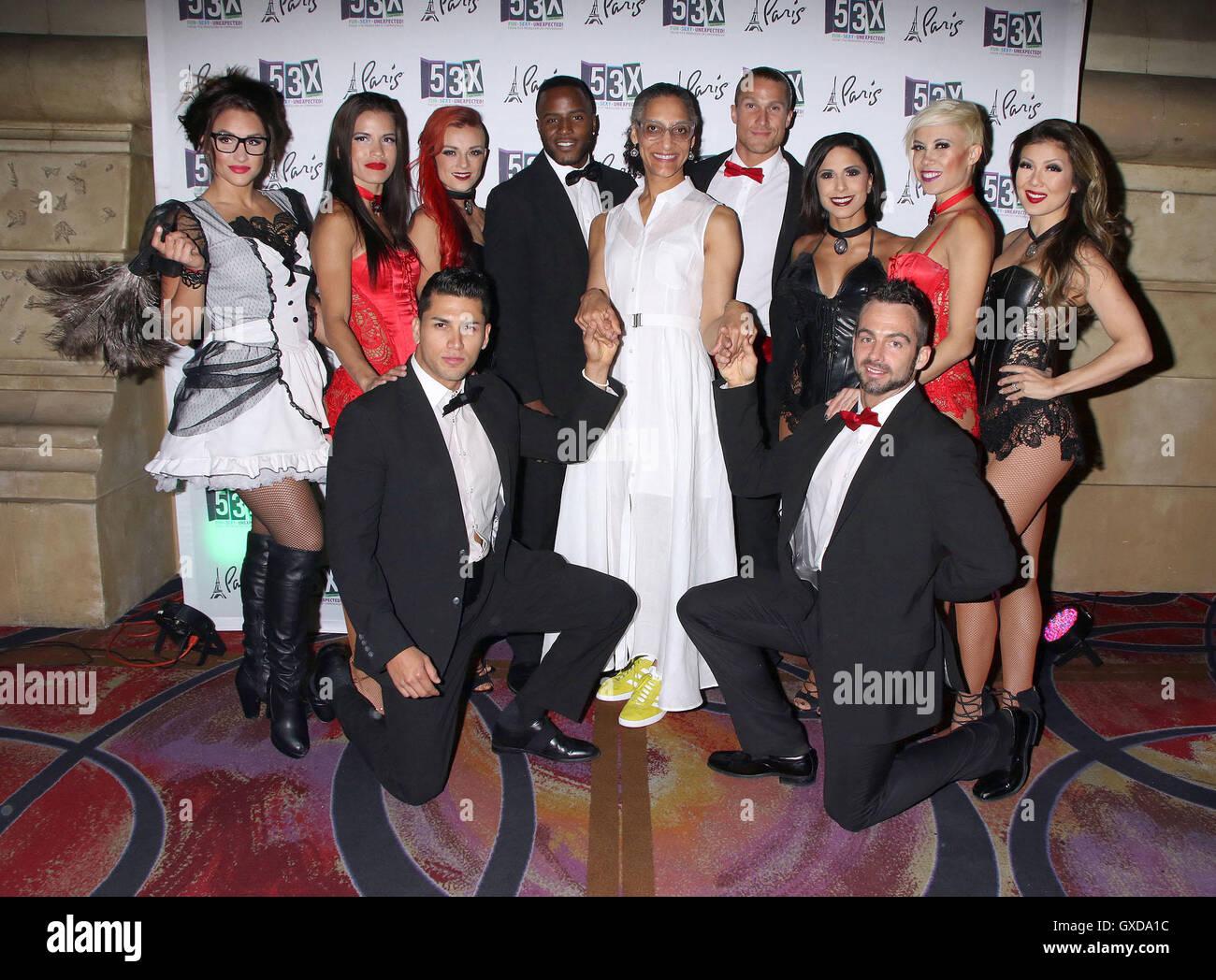 Carla Hall Celebrates Her Husband Matthew Lyons 50th Birthday At 53X Inside Paris Hotel Casino Featuring Where Las Vegas Nevada