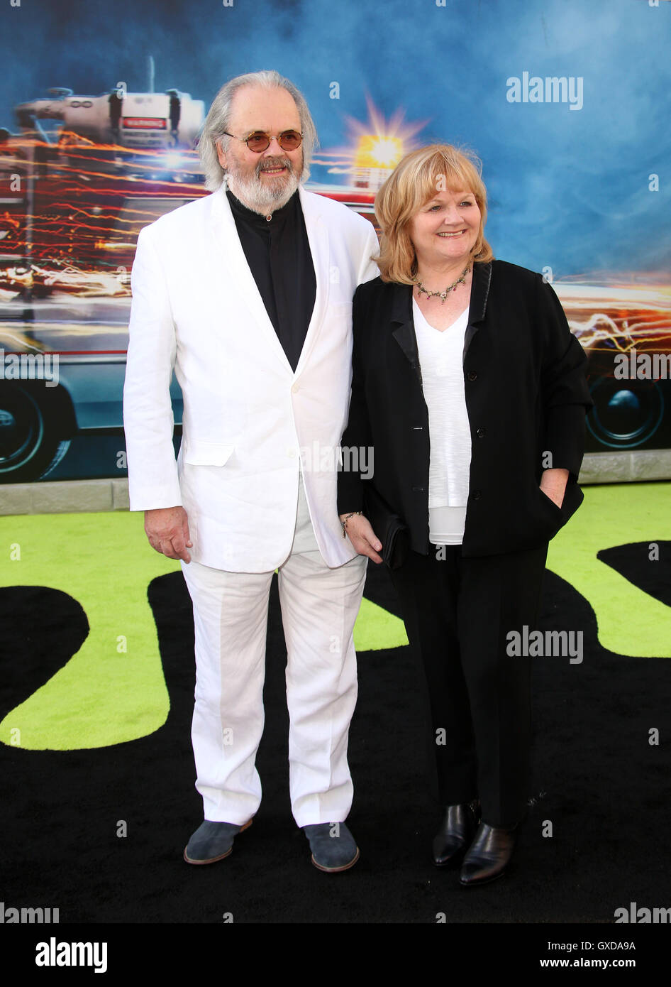 Los Angeles premiere of 'Ghostbusters' - Arrivals  Featuring: Lesley Nicol, David Keith Where: Los Angeles, - Stock Image