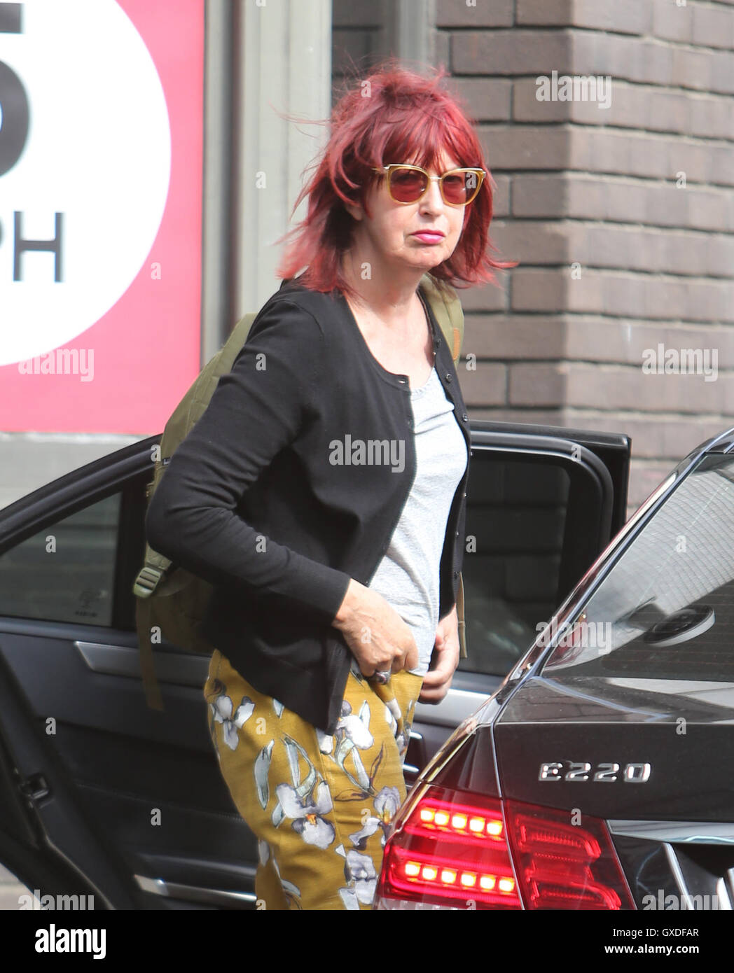 Janet Street-Porter outside ITV Studios  Featuring: Janet Street-Porter Where: London, United Kingdom When: 11 Jul - Stock Image
