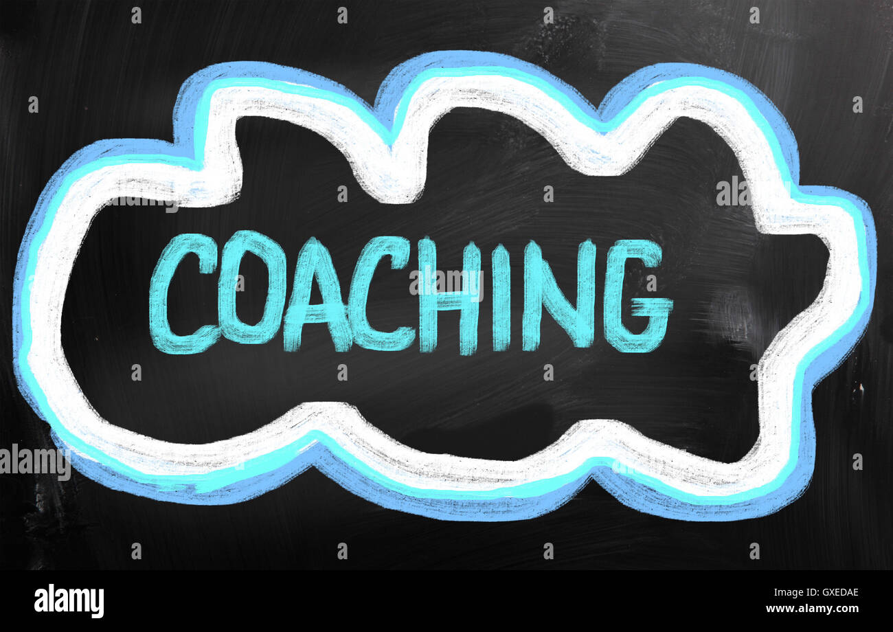 Coaching Concept - Stock Image