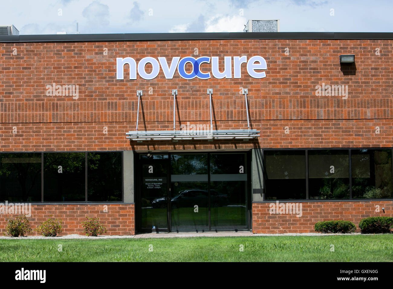 A Logo Sign Outside Of A Facility Occupied By Novocure In