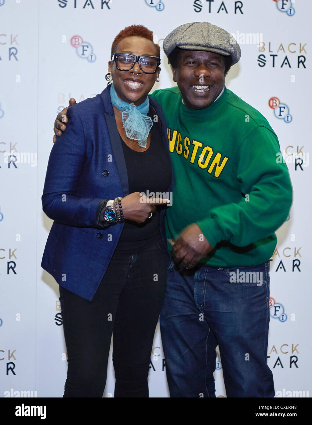 Black Star Press Launch At Bfi Southbank Featuring Gina Yashere Dj Norman Jay Mbe Where London United Kingdom When