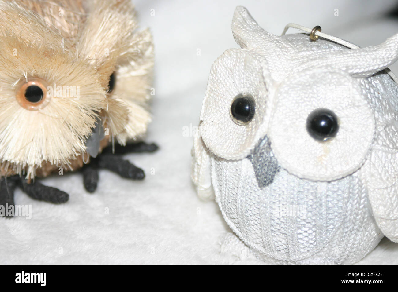 Artificial Owls - Stock Image