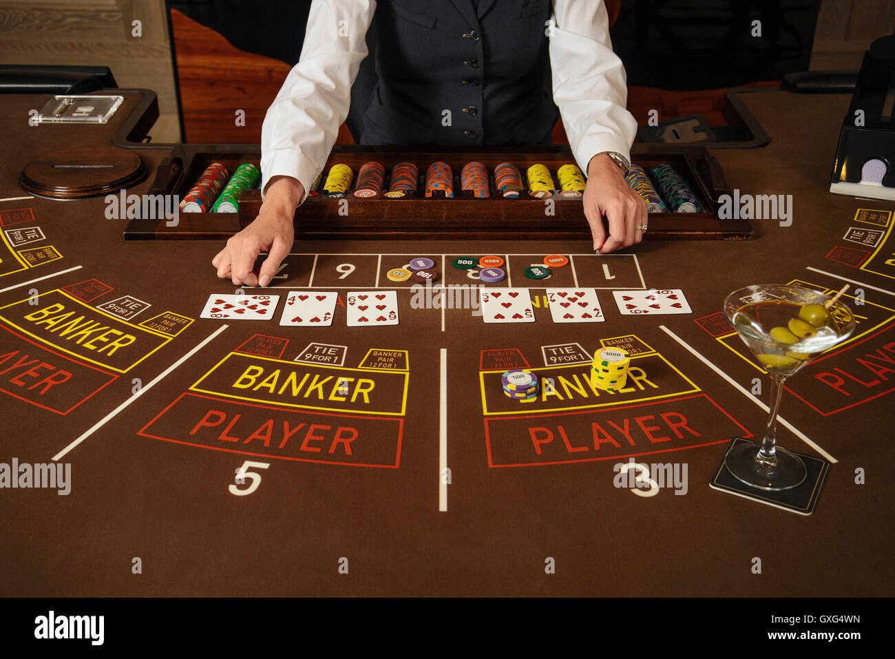 Nevada Casino Dealer High Resolution Stock Photography And Images Alamy