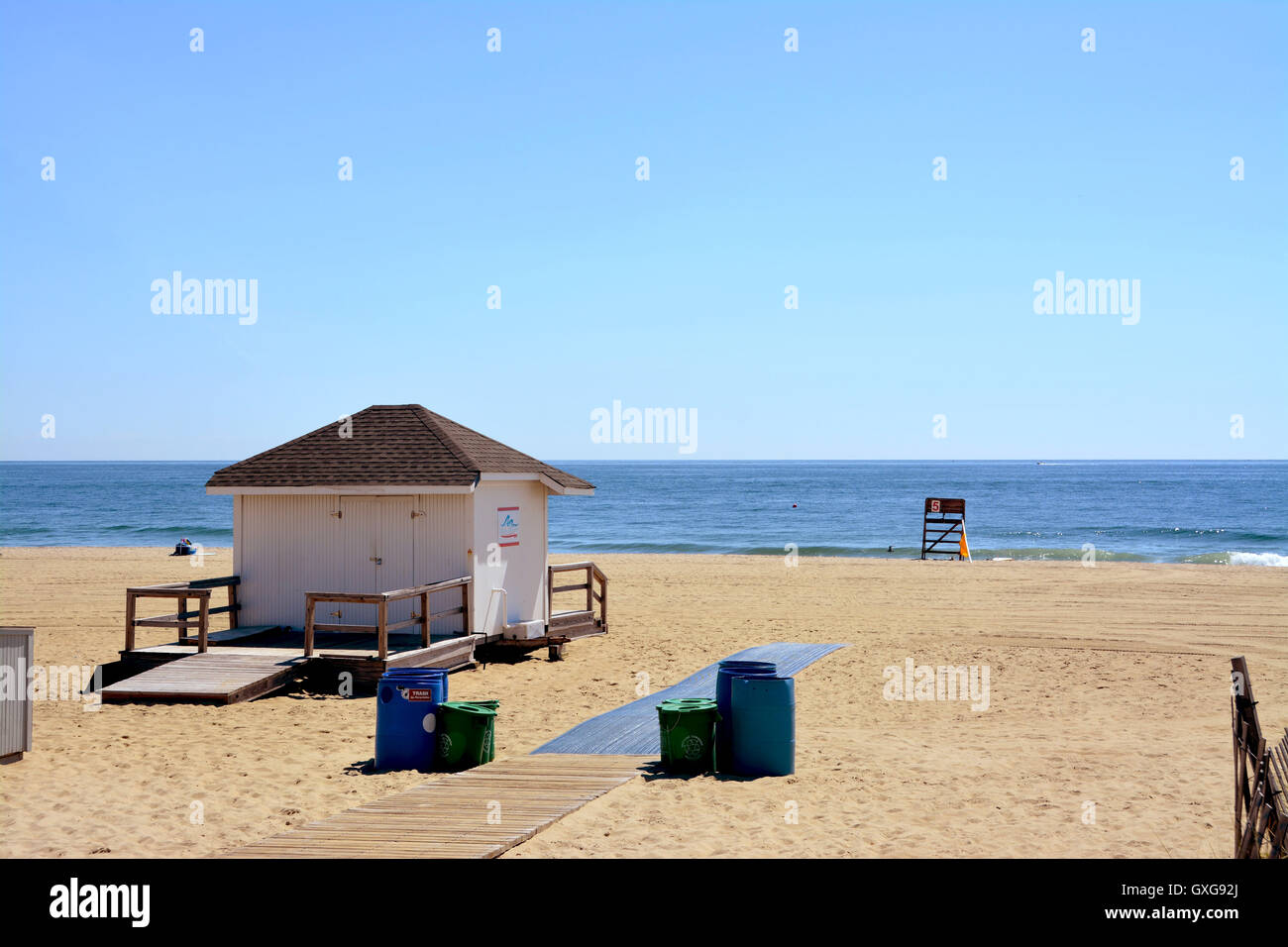 Beach Scape - Stock Image