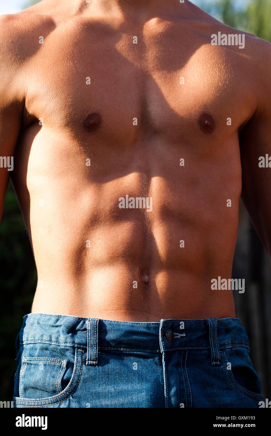 Stomach Muscles Stock Photos & Stomach Muscles Stock Images - Alamy