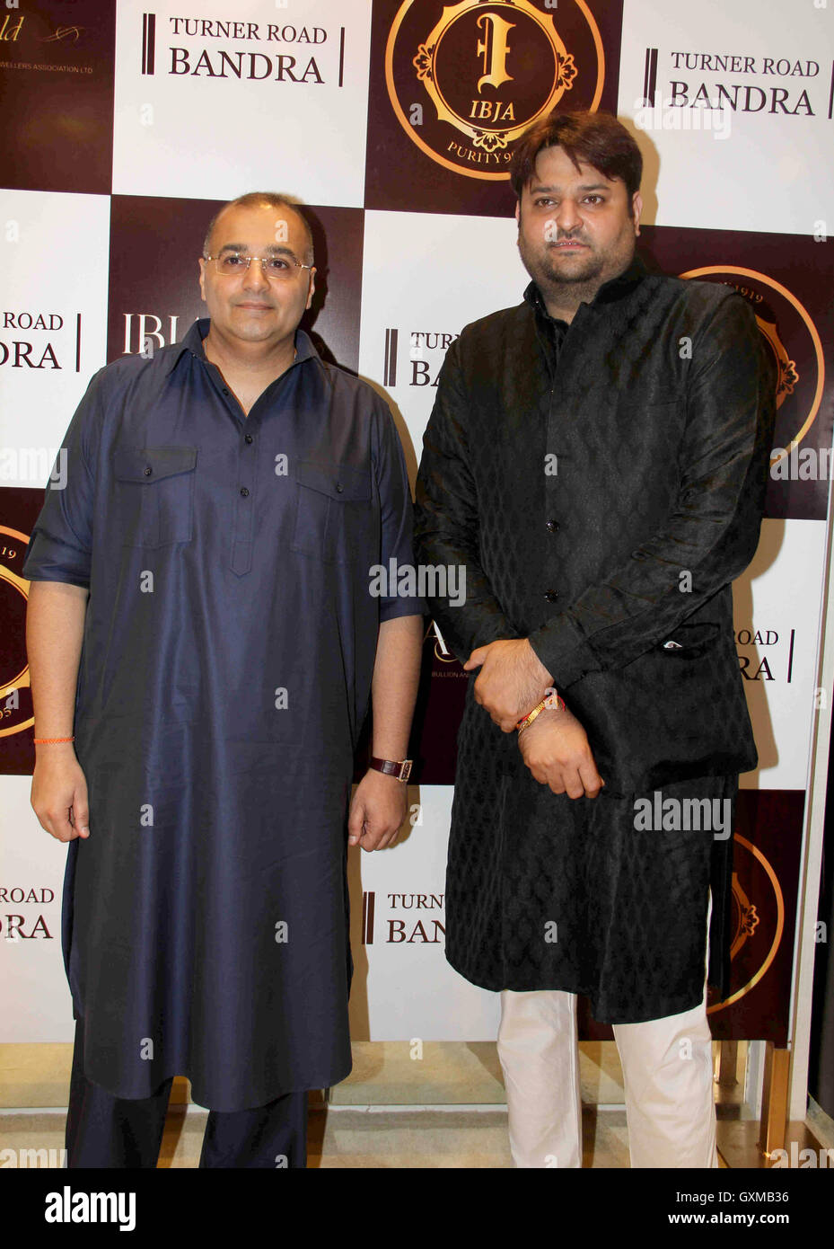 8 >> Businessmen Baba Dewan (L) and Mohit Kamboj during the ...