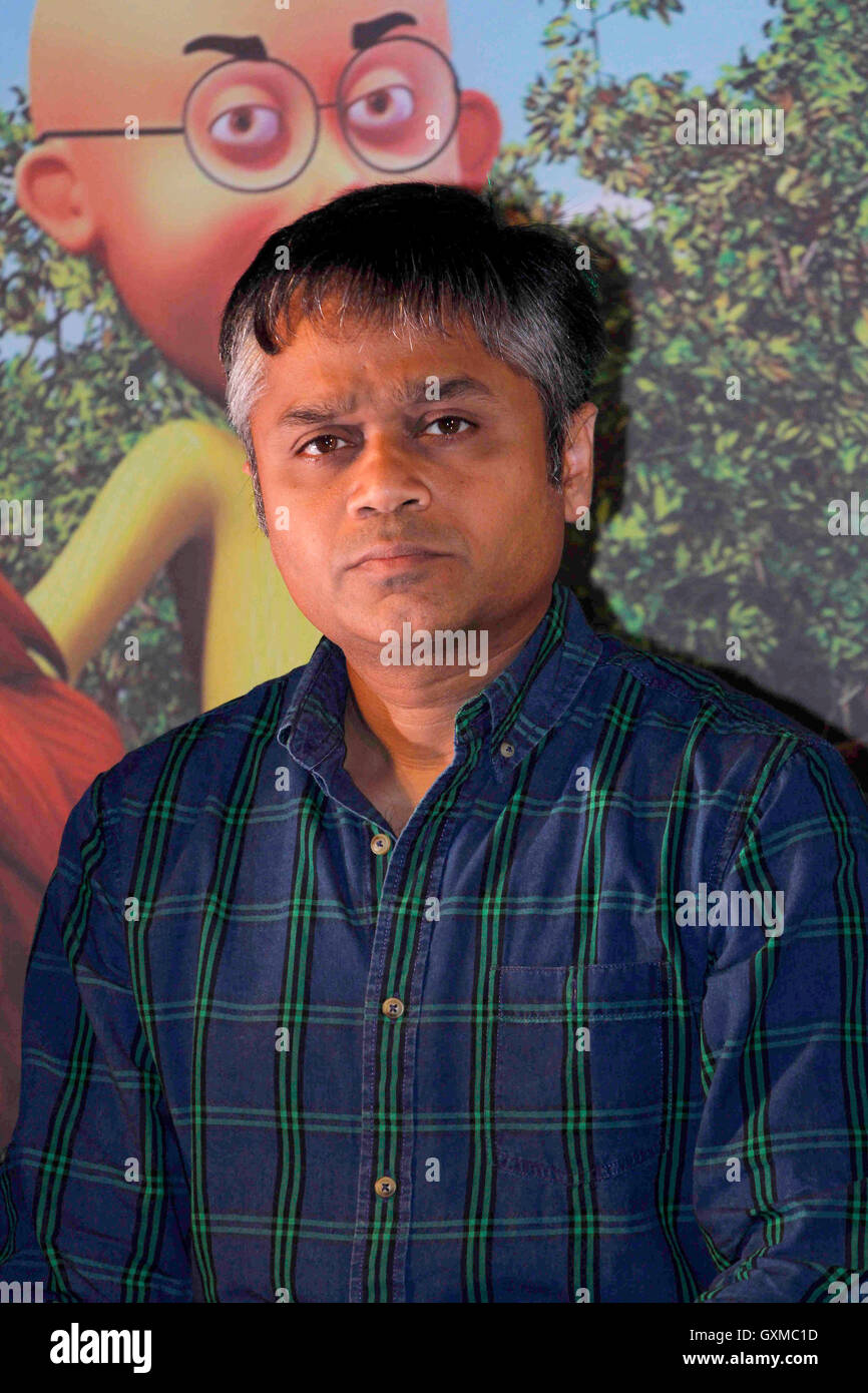 Ajit Andhare, COO, Viacom 18 Media Private Limited launch first 3D stereoscopic animated movie Motu Patlu King Kings - Stock Image
