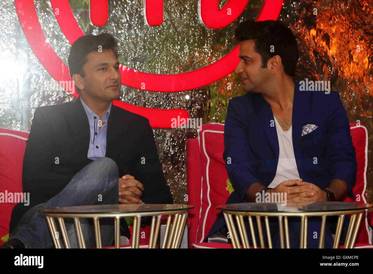 L to R) Chef Vikas Khanna and Kunal Kapur launch of Star