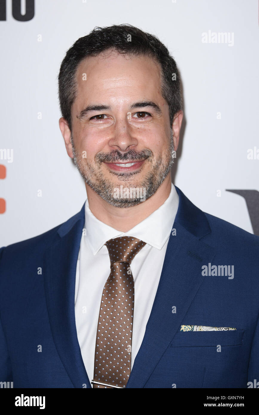Toronto, Ontario, Canada. 16th Sep, 2016. Actor SHANE JACOBSEN attends 'Strange Weather' premiere during - Stock Image