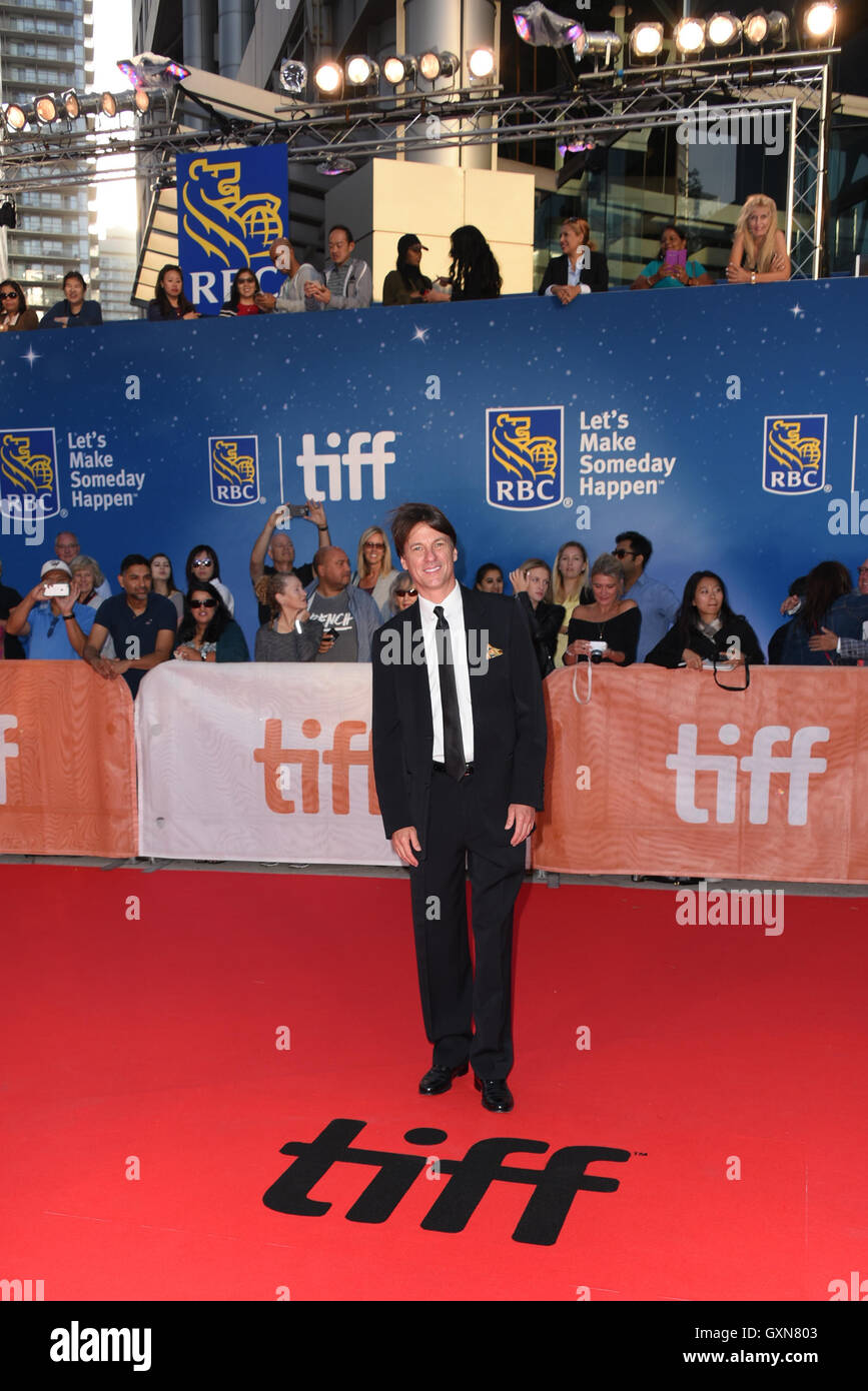 Toronto, Ontario, Canada. 16th Sep, 2016. Actor CHOPPY GUILLOTTE attends 'Strange Weather' premiere during - Stock Image