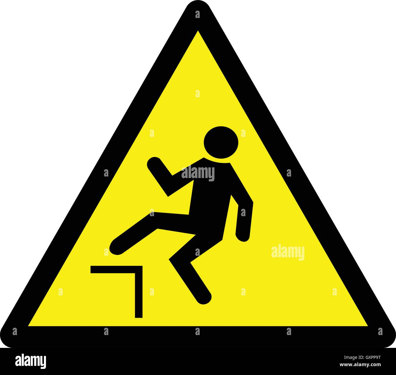 edge yellow caution sign - HD1300×1230