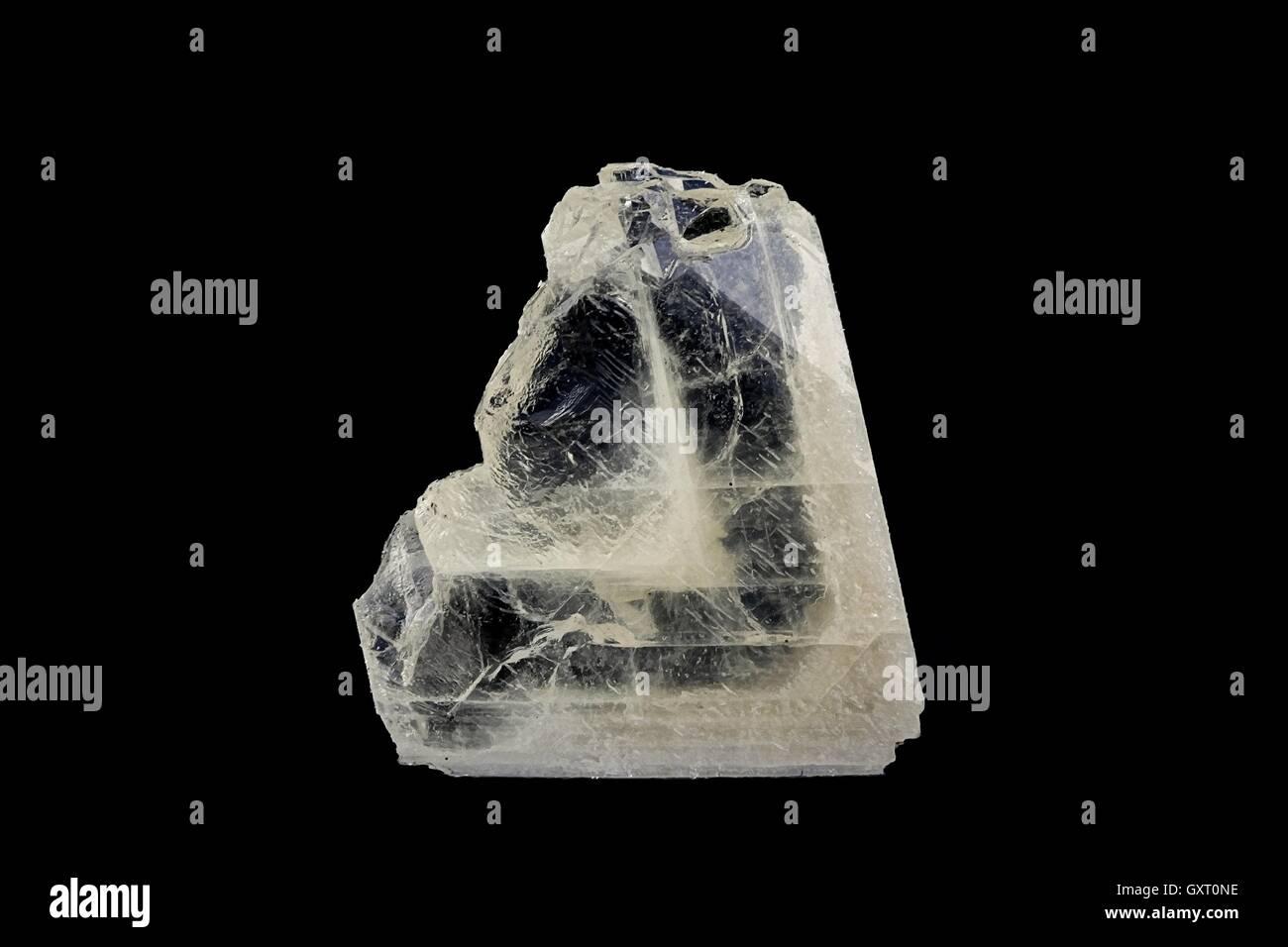 Crystal of baryte - Stock Image