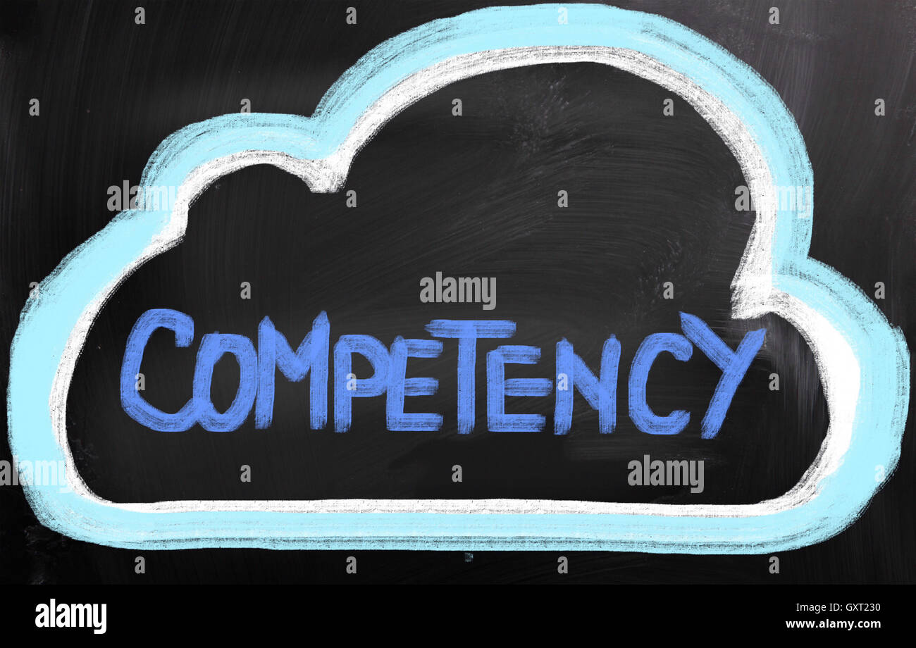 Competency Concept - Stock Image