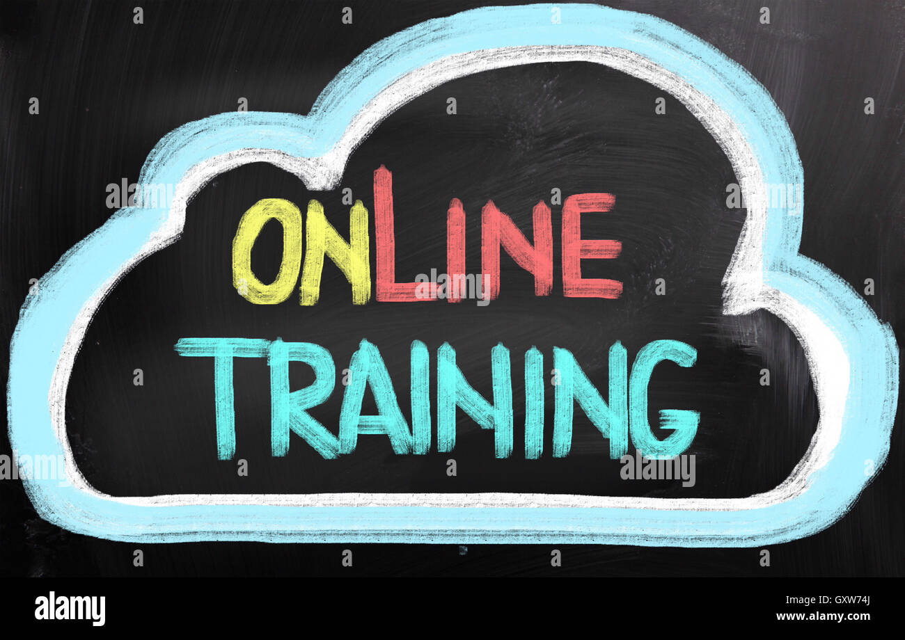 Online Training Concept - Stock Image