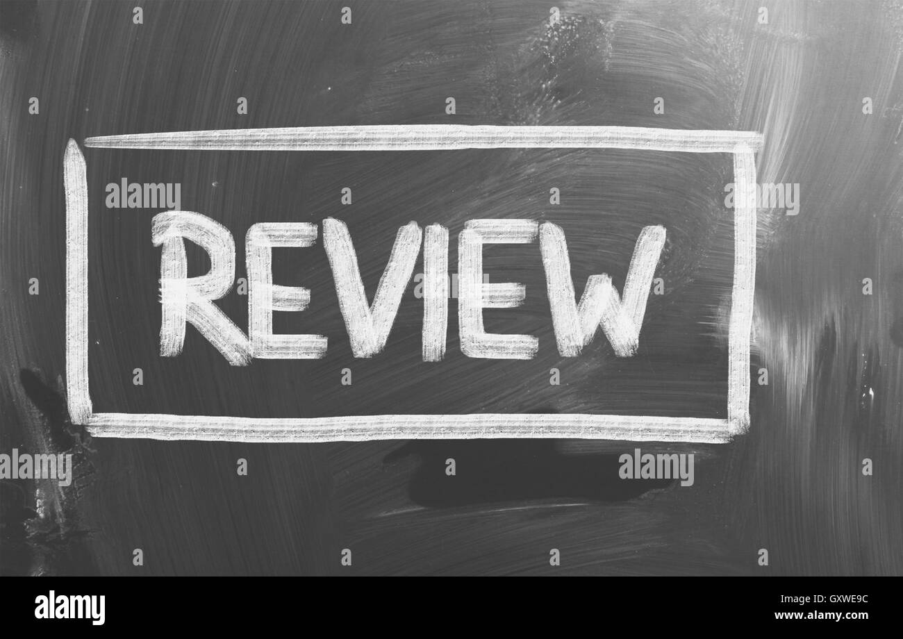 Review Concept - Stock Image