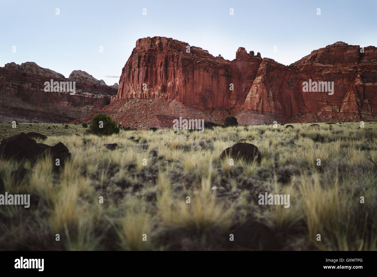 Fremont Gorge in Utah's Capitol Reef National Park - Stock Image