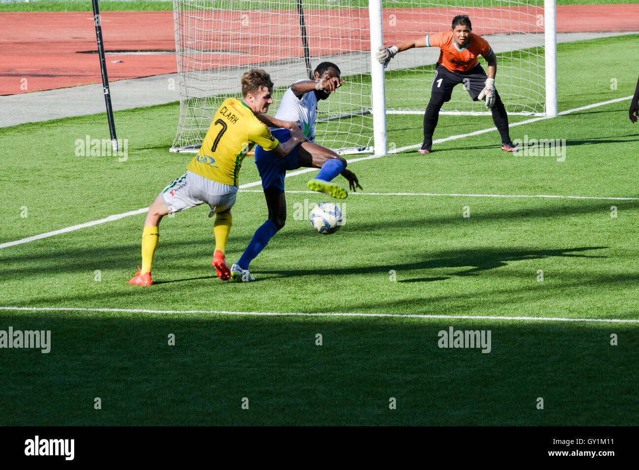 Professional Football Philippines, United League - Kaya vs Stallions - Stock Image