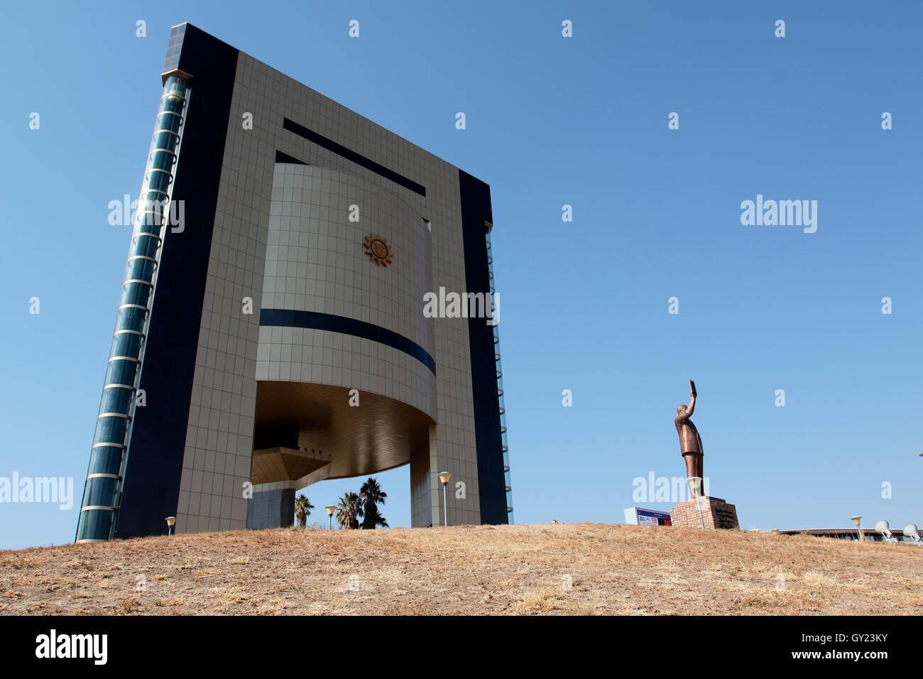Independence memorial museum, Windhoek, Namibia, August 2016 - Stock Image