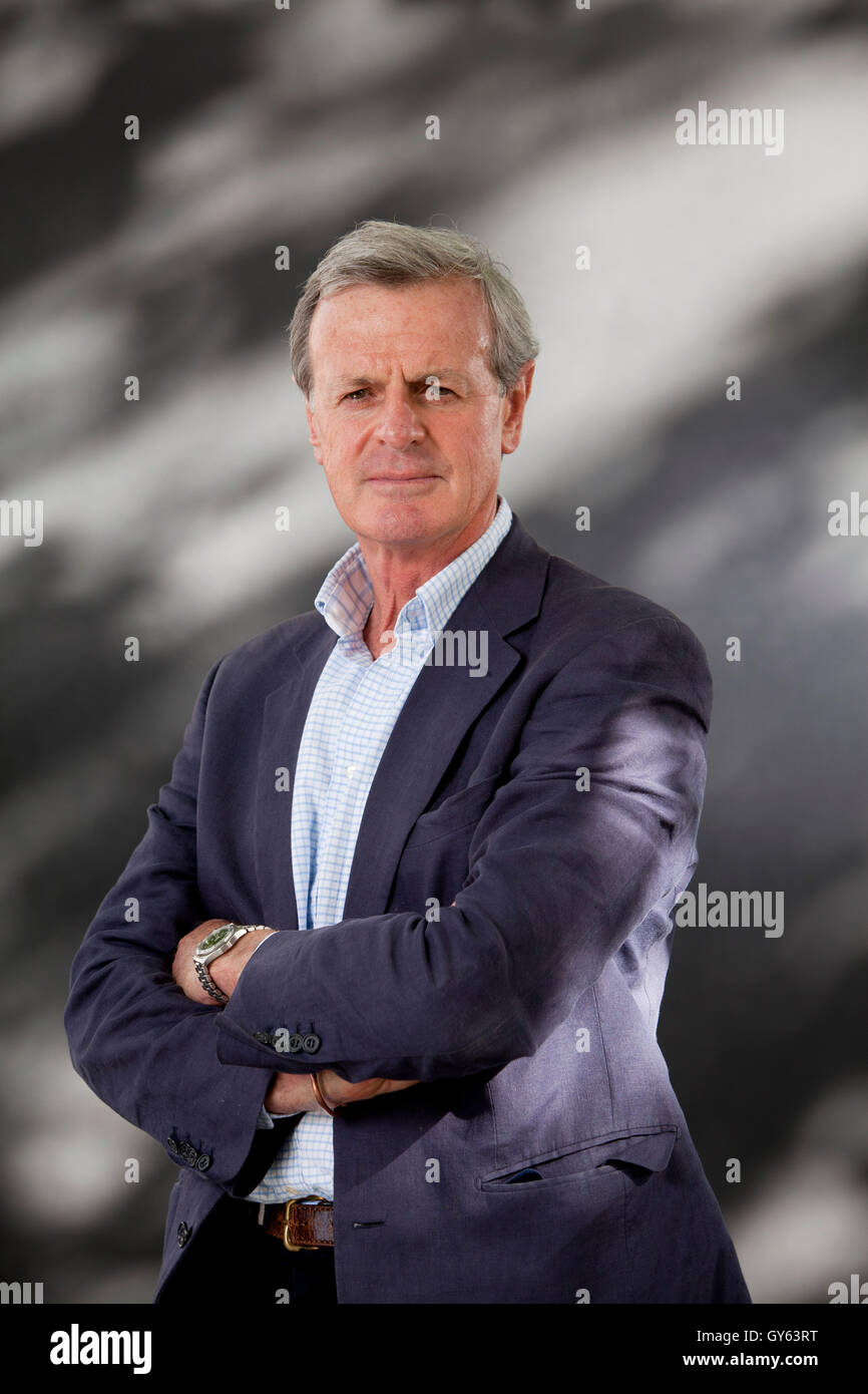General Sir Richard Shirreff, former NATO Deputy Supreme Allied Commander Europe and author, at the Edinburgh International - Stock Image