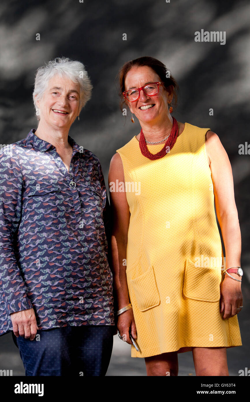 Valerie Gillies The Scottish Poet And Dr Lesley Morrison A Stock
