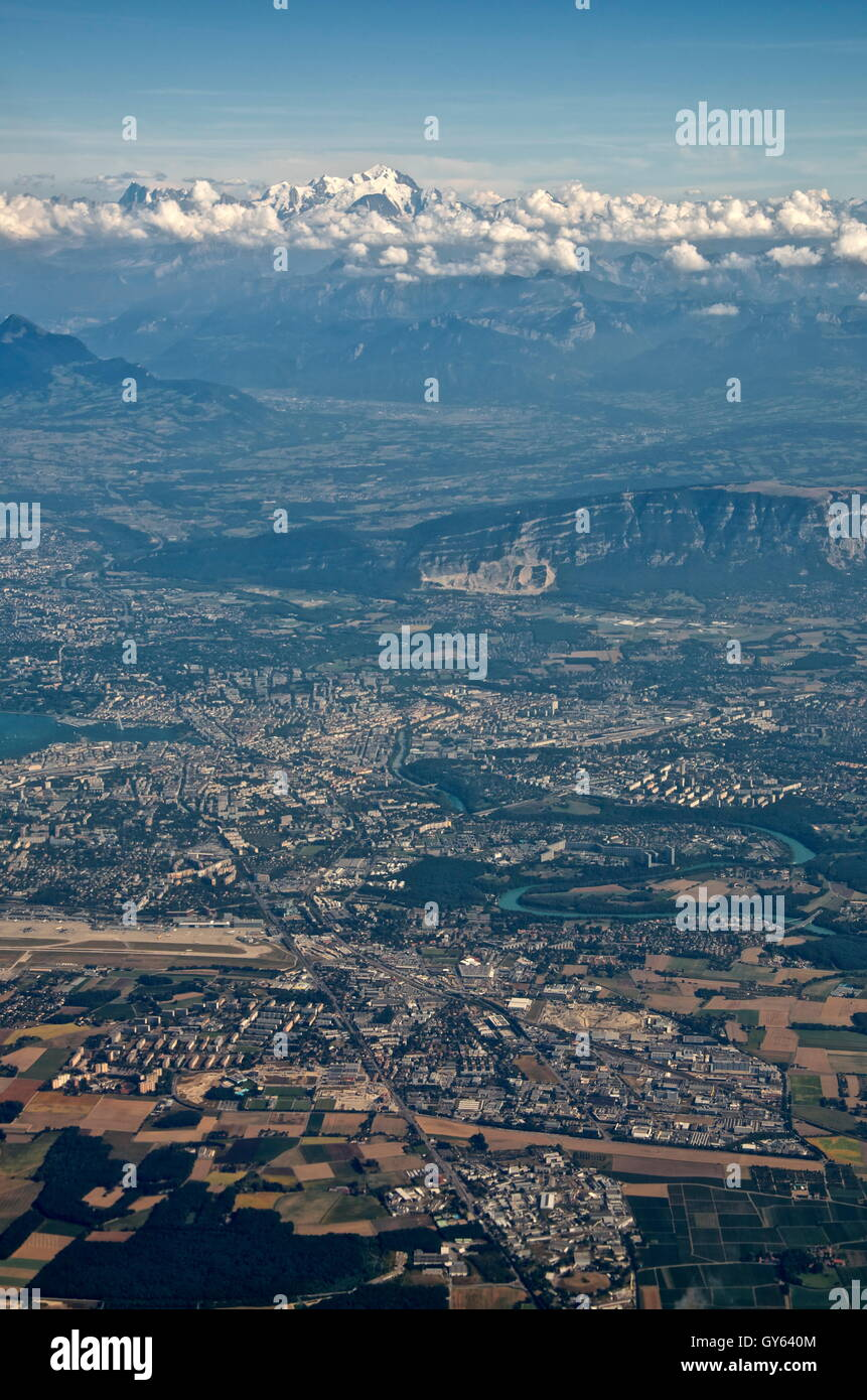 Geneva. View from above 5