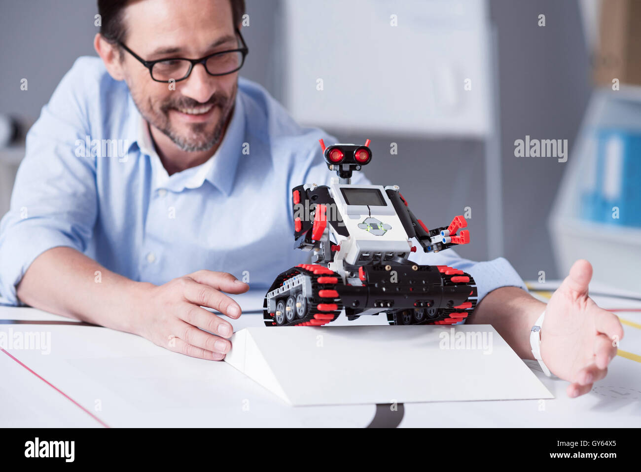 Robotics Scientist Stock Photos Robotics Scientist Stock Images