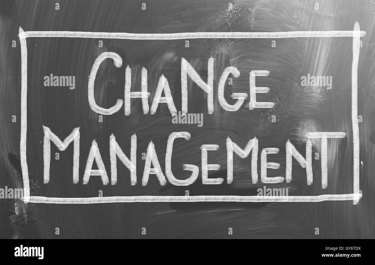 Change Management Concept - Stock Image