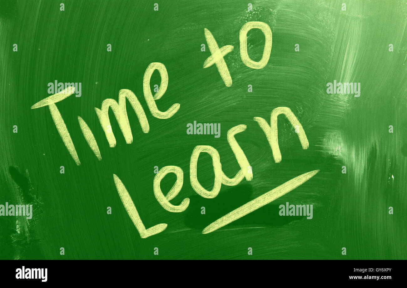 Time To Learn Concept - Stock Image