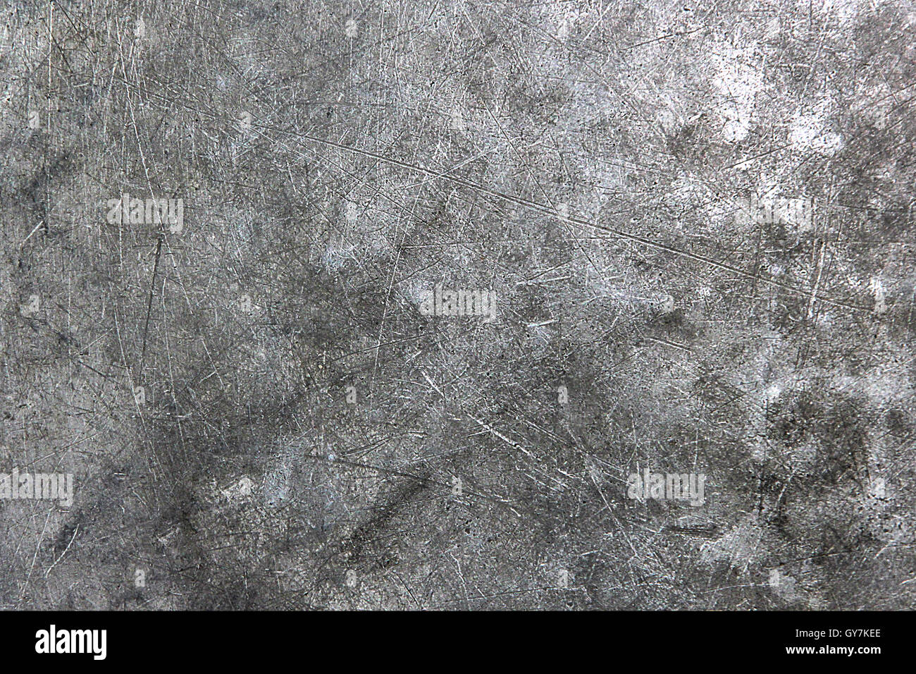 chrome metal texture with scratch. look like cement or concrete texture. background and texture. Stock Photo