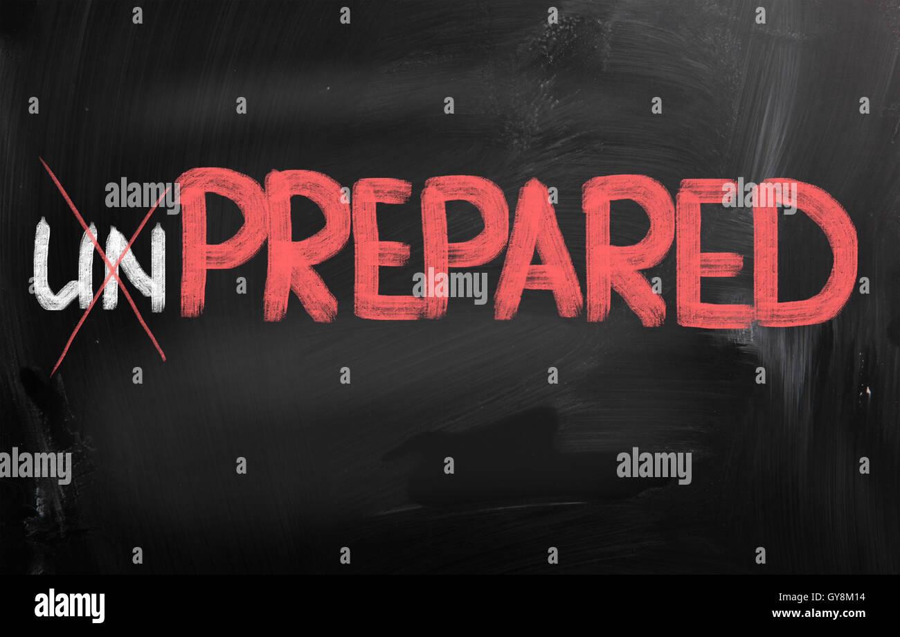 Prepared Concept - Stock Image