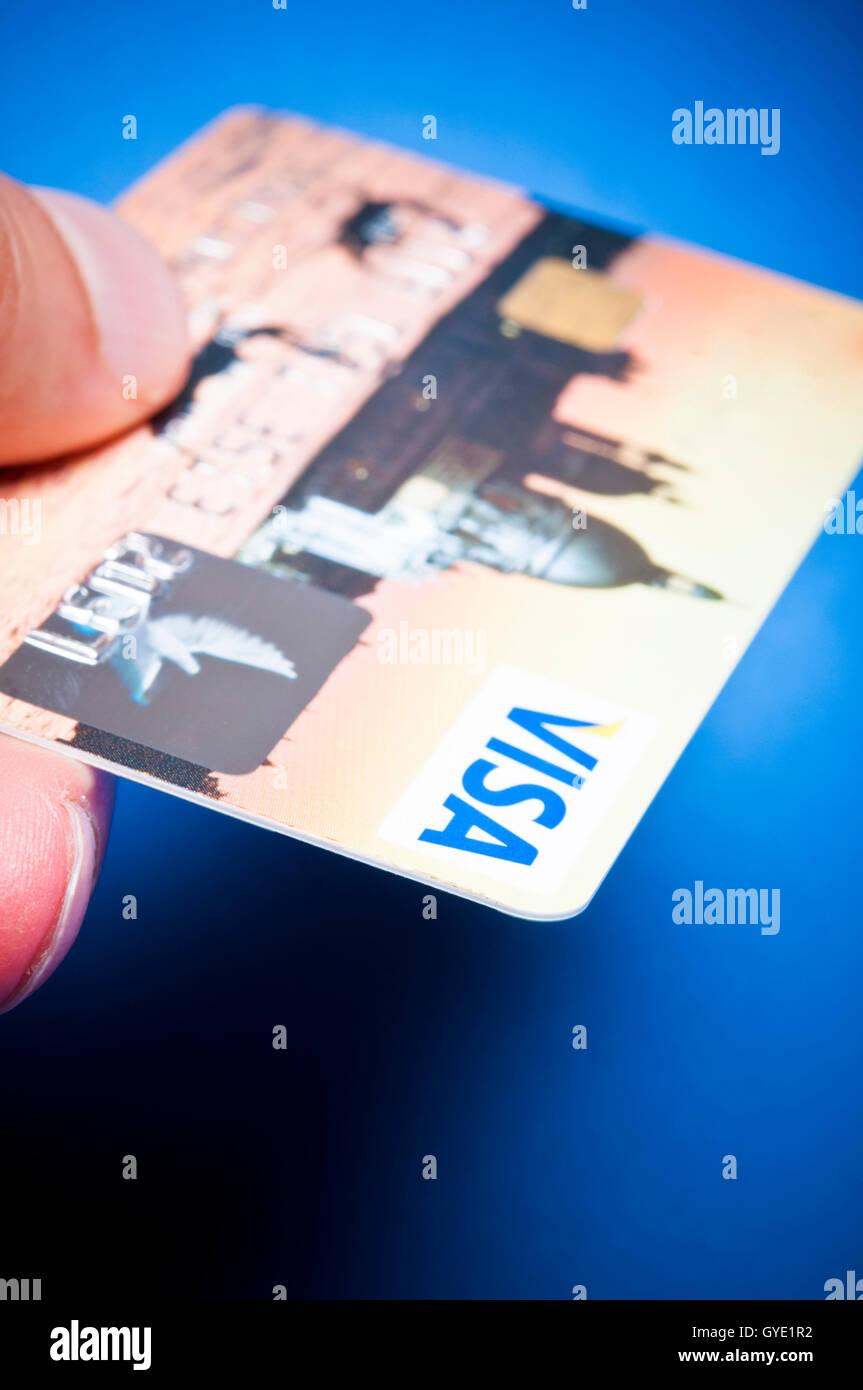 VISA credit card - Stock Image