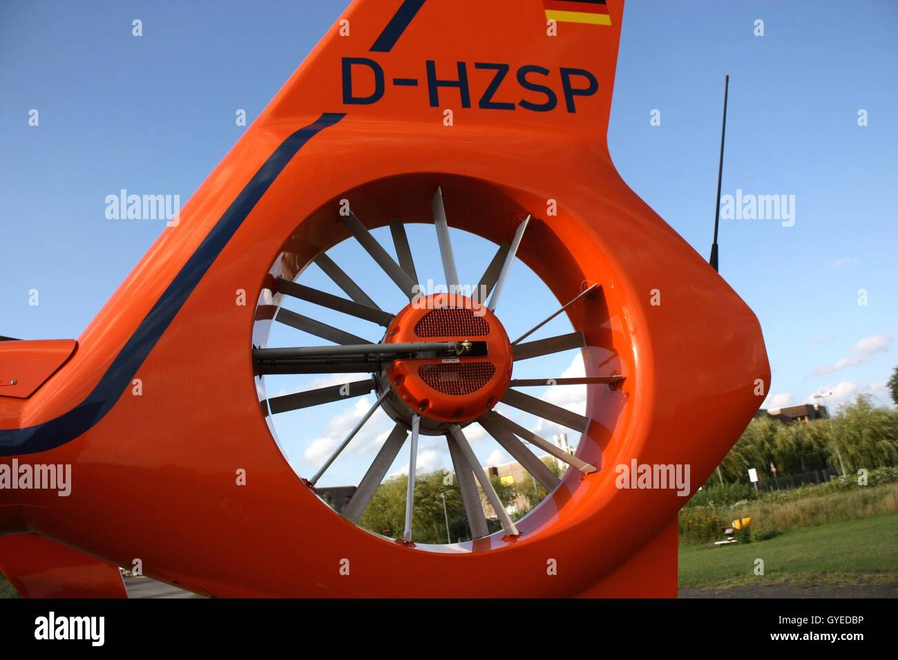 heli, helicopter, copter, rescure, aid, health - Stock Image