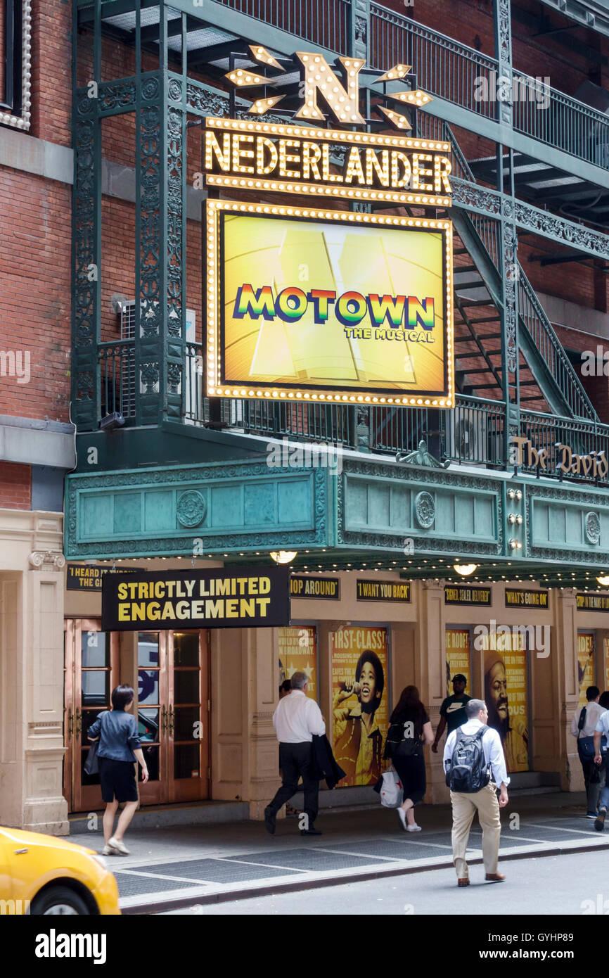 Manhattan New York City NYC NY Midtown Broadway Theater