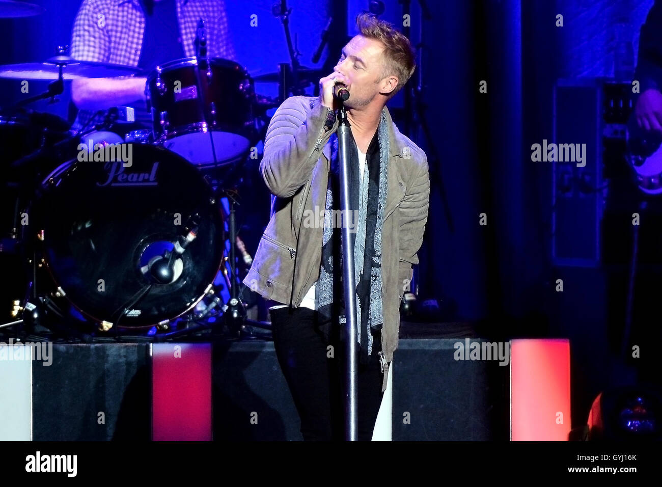 Ronan Keating Time of My Life Tour at Newcastle City Hall, Newcastle Upon Tyne | Wed 14th September 2016 - Stock Image