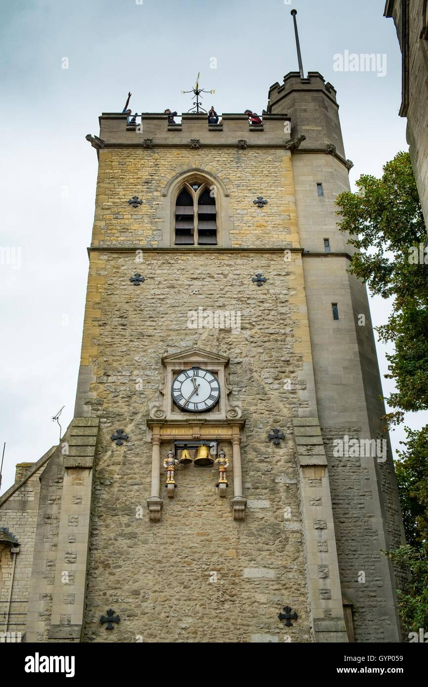 Carfax Tower, Queen St, Oxford OX1 1ET, United Kingdom - Stock Image