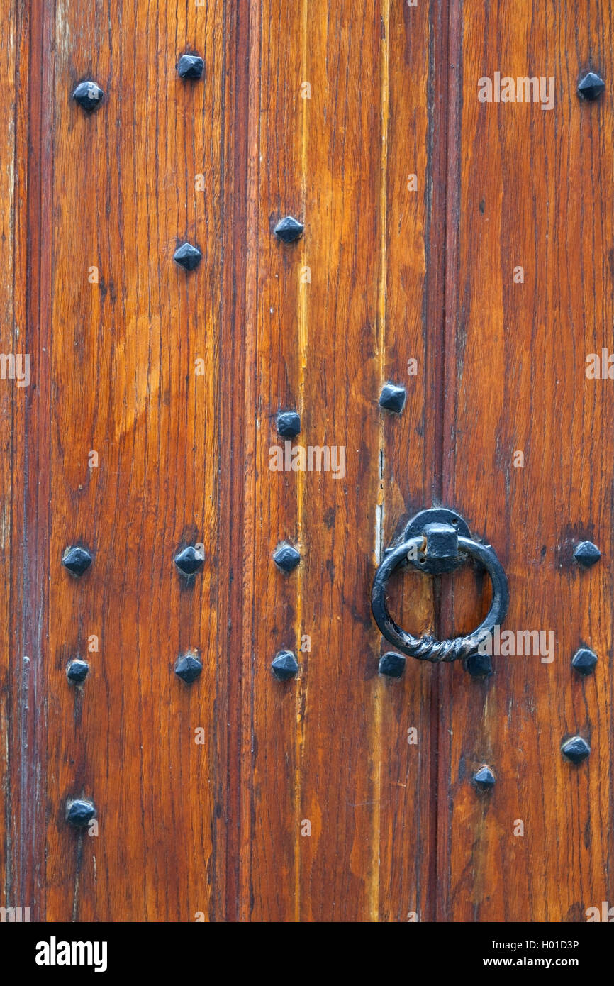 How Thick Is A Door.Part Of Thick Very Old Wooden Door Of Church Or Medieval
