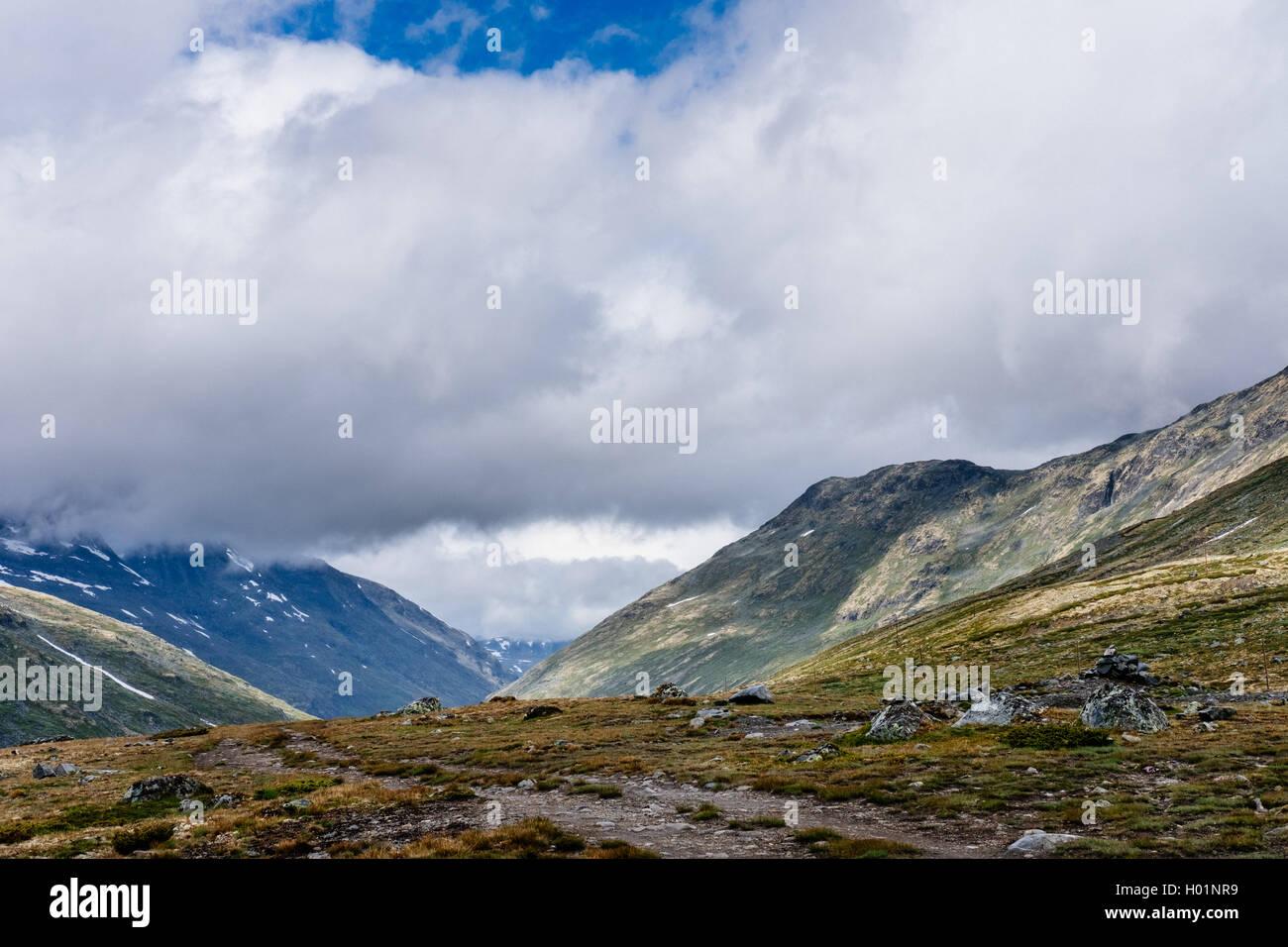 Leirvassbu, Jotunheimen national park Norway - Stock Image
