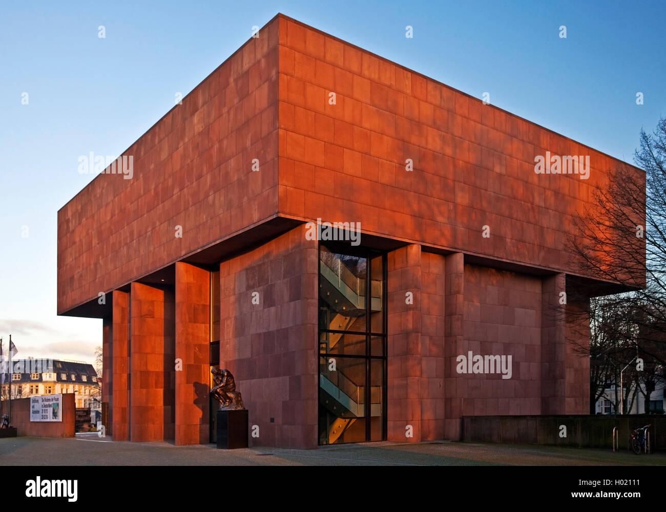 Kunsthalle Bielefeld Germany North Rhine Westphalia East Stock