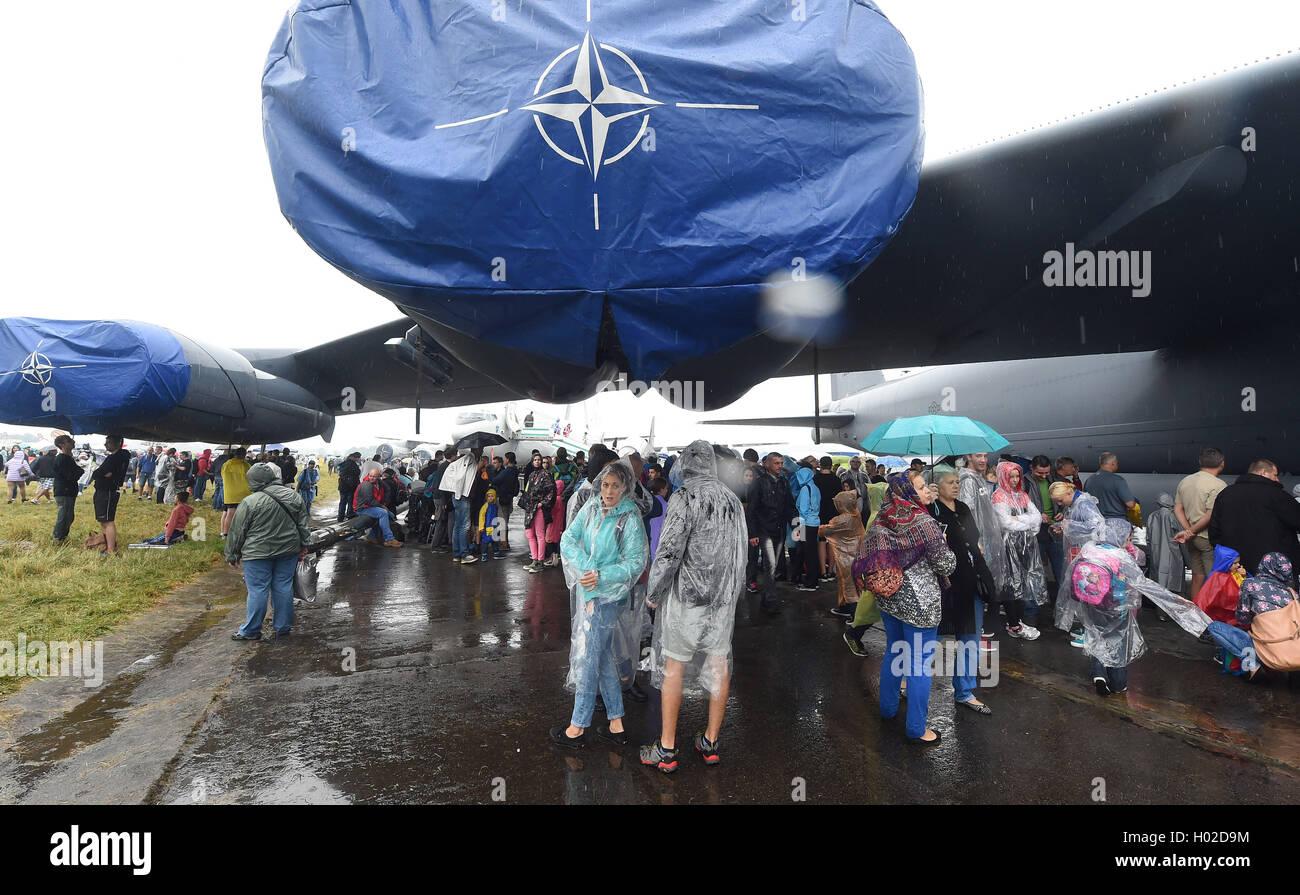 U.S. strategical bomber B-52 Stratofortress Stock Photo