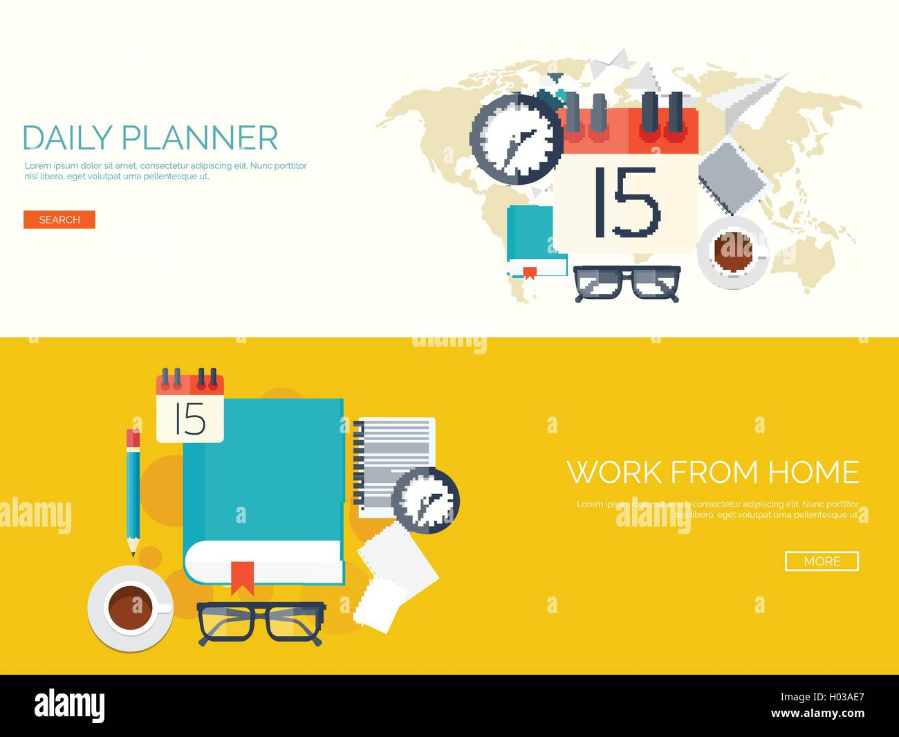 vector illustration flat background with calendar time date 31 december new year