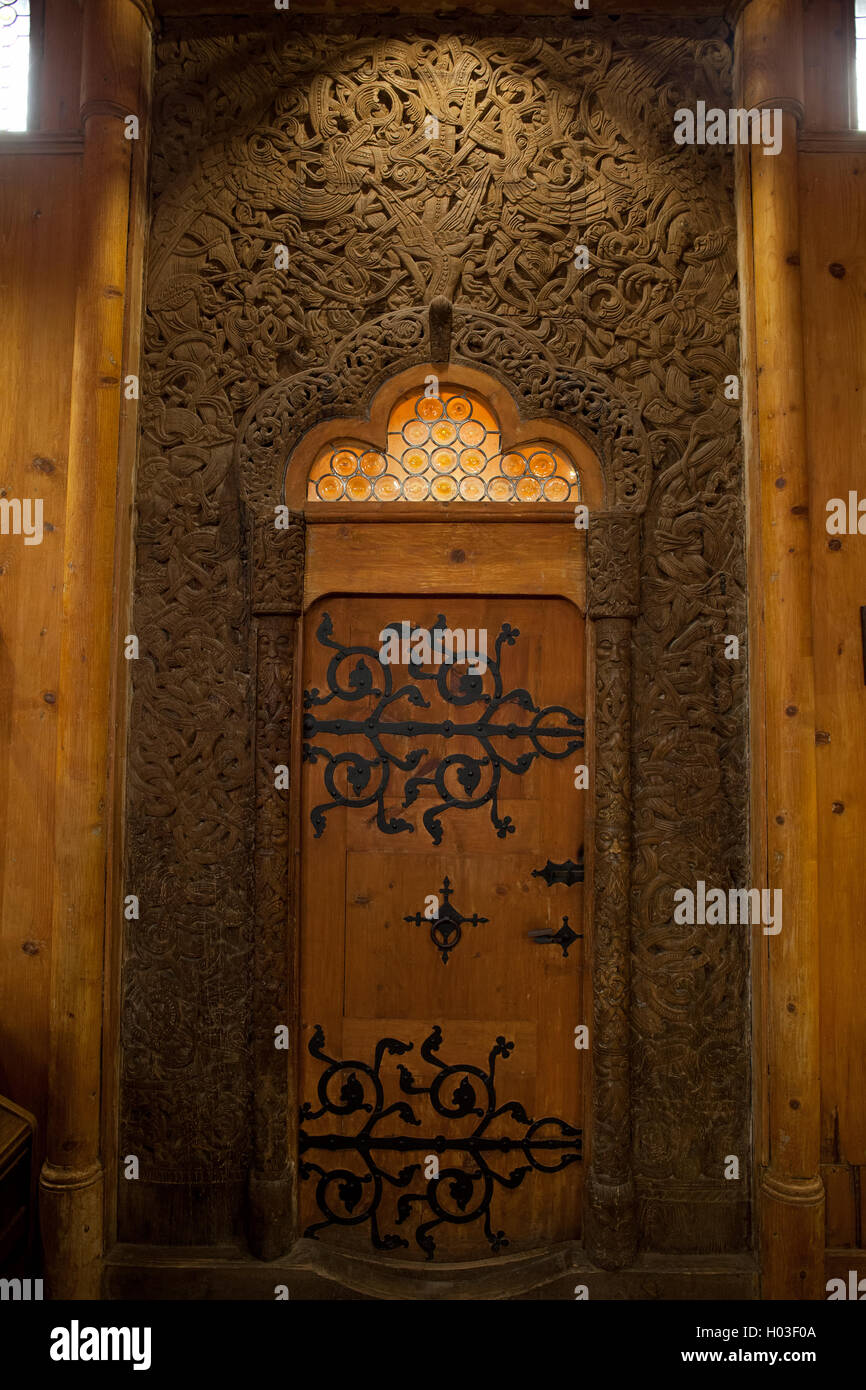Poland Karpacz Wang Church Interior Portal With Viking Wood Carving Vang Temple & Viking Doors Poland \u0026 College Harry Potter And Life Cnet Harry ...
