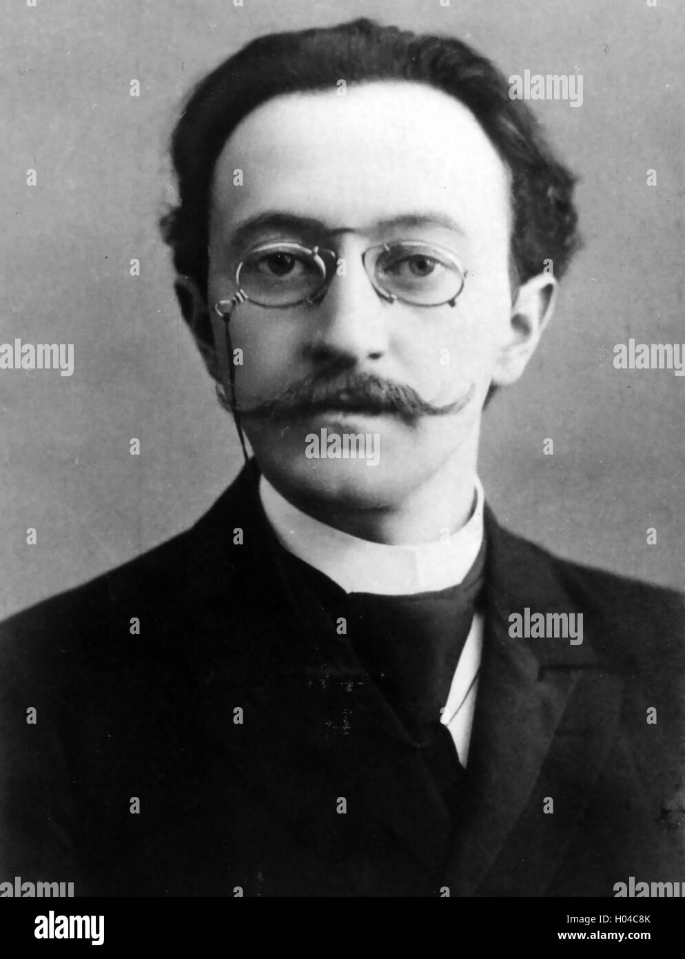 LUDWIG FULDA (1862-1939) German playwright - Stock Image