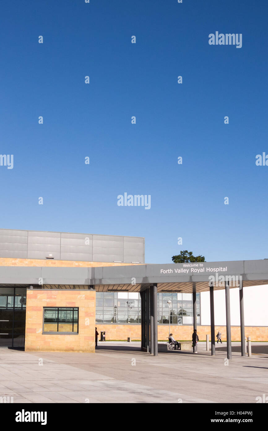 Forth Valley Royal Hospital, Larbert, Scotland - Stock Image