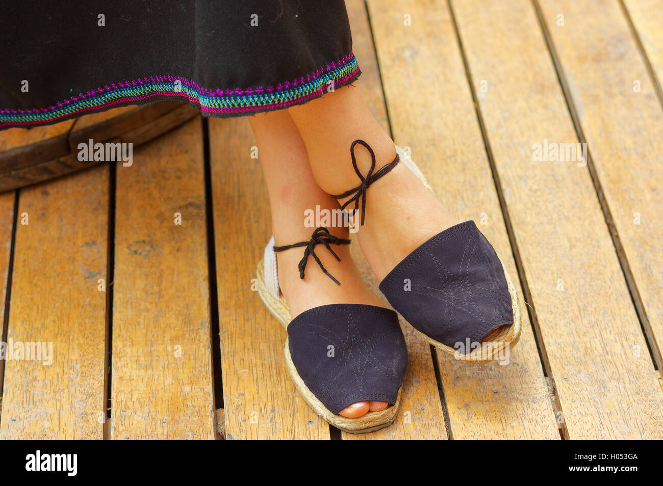 ce7b11ecf8529 Traditional Bolivian Shoes Stock Photos   Traditional Bolivian Shoes ...