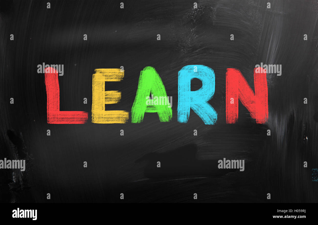 Learn Concept - Stock Image