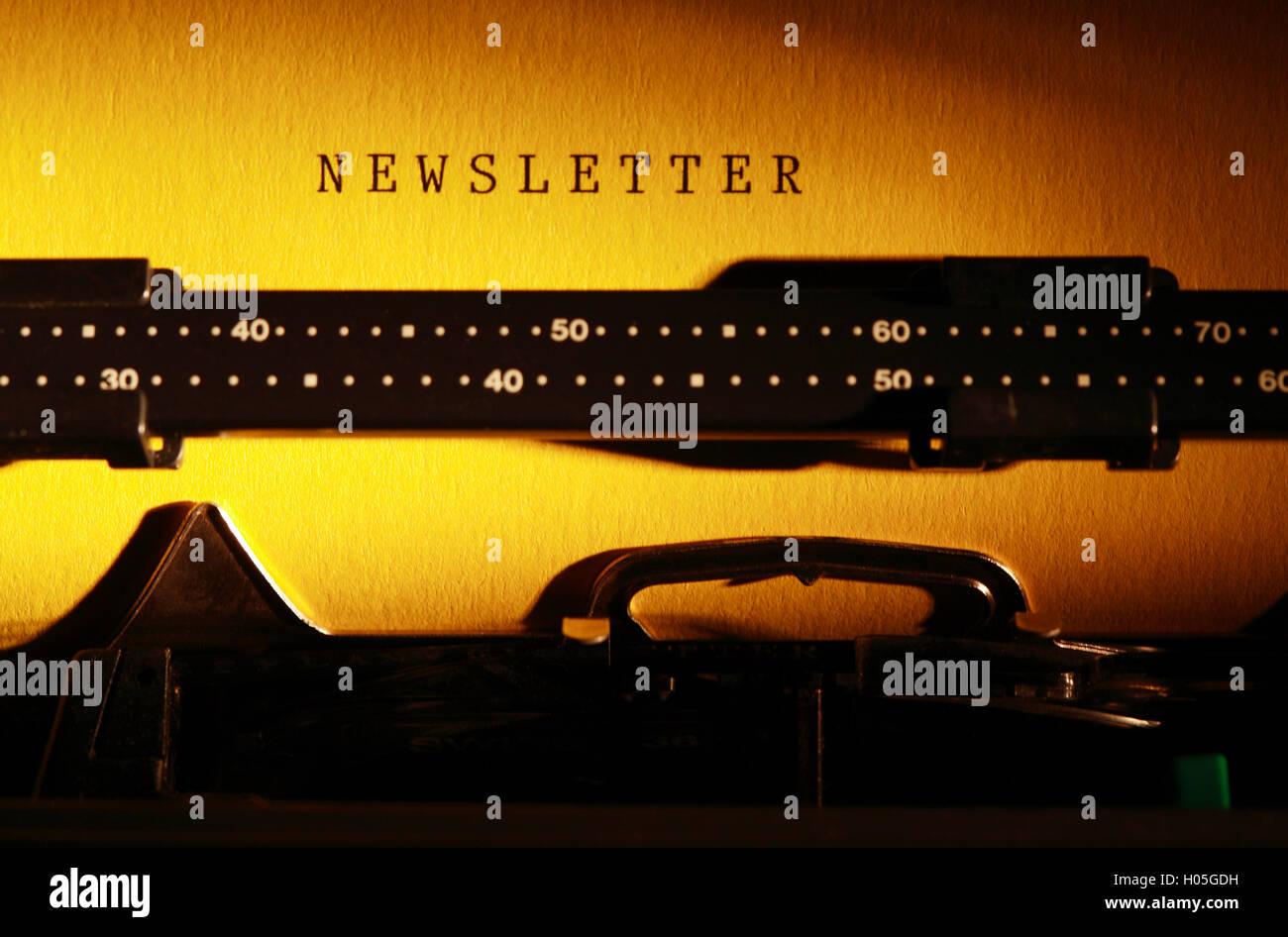 Journalism Concept - Stock Image