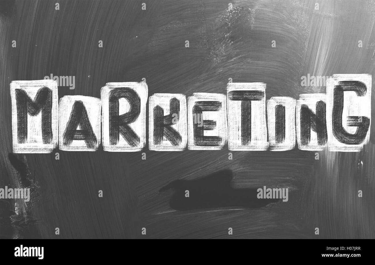 Marketing Concept - Stock Image